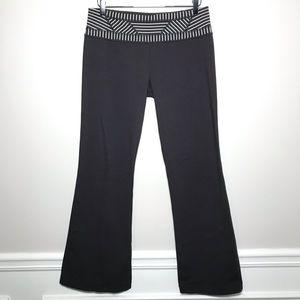 Lululemon Striped Reversible Flare Yoga Pants